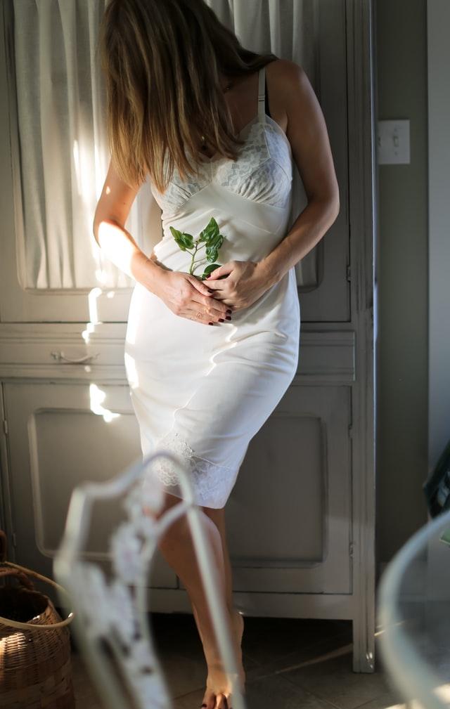 Every girl needs a slip dress.