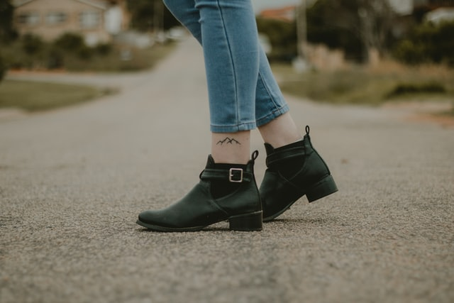 Ankle boots are a must.